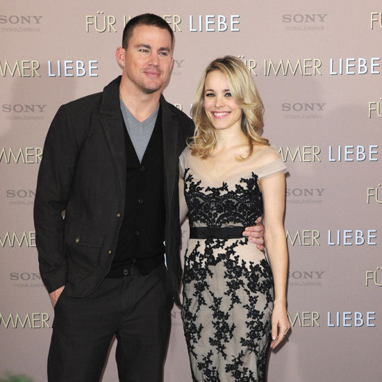 Rachel McAdams and Channing Tatum Premiere Pictures
