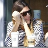 Jennifer Carpenter met up with her ex-husband.