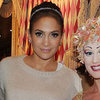 Jennifer Lopez and Casper Smart at Cirque Du Soleil