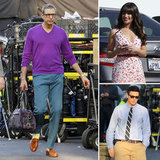 Jeff Goldblum Gets to Work on Glee With Lea Michele and Cory Monteith