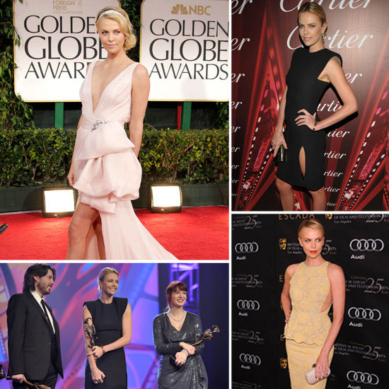 See Charlize Theron's Fashionable Award Season So Far!