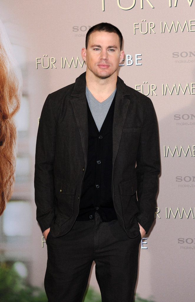 Channing Tatum layered on the clothes for a movie premiere in Munich.