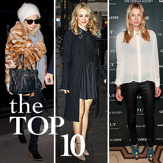 Fab's Top 10 Celebrity Looks of the Week — Nicole, Rachel, Jessica, and More!
