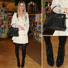 Nicky Hilton's Trench Coat and Hermes Bag