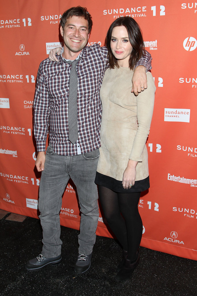Mark Duplass and Emily Blunt attended the Your Sister's Sister premiere.