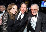 Angelina, Brad, and Stan