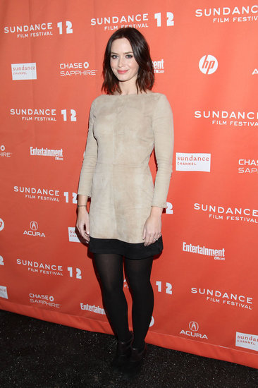 Emily Blunt Celebrates Your Sister's Sister at Sundance Without John