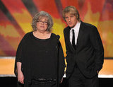 Kathy Bates and Owen Wilson