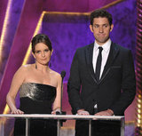 Tina Fey and John Krasinski