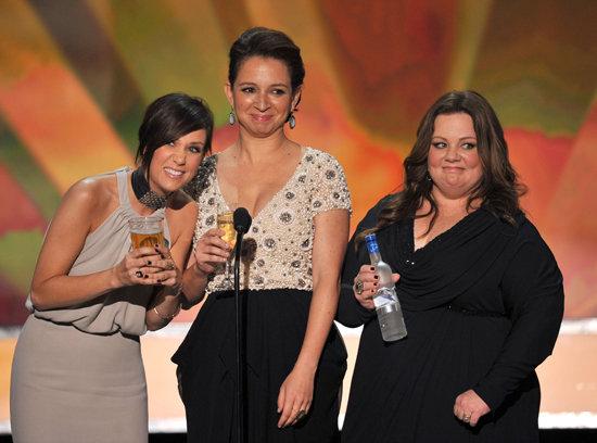 Kristen Wiig, Maya Rudolph, and Melissa McCarthy