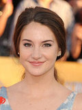 Shailene Woodley at the SAG Awards