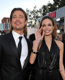 Brad Pitt and Angelina Jolie Get Sexy at the SAGs
