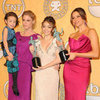 Modern Family Cast Backstage at the 2012 SAG Awards (Video)