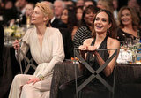 Tilda Swinton and Angelina Jolie dined together.