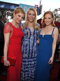 Michelle Williams, Busy Philipps and Jessica Chastain