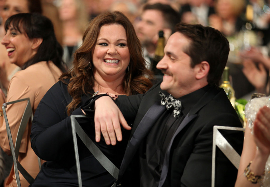 Melissa McCarthy and her husband Ben Falcone at the SAGs.