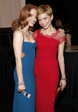Jessica Chastain and Michelle Williams posed at the SAGs.