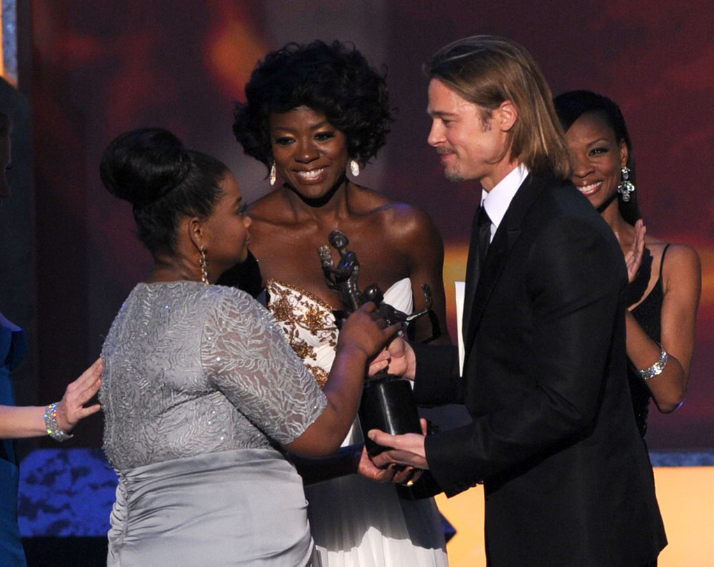 Brad Pitt, Octavia Spencer, and Viola Davis