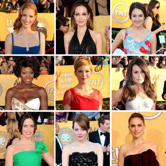 What the Stars Wore at the 2012 SAG Awards