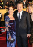 Breaking Bad's Bryan Cranston and wife Robin Dearden pose on the red carpet.