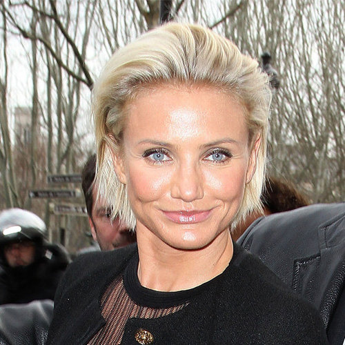 Cameron  Diaz's Short Hairstyle Looks