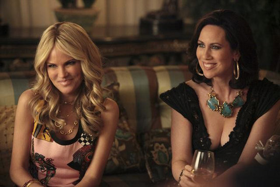 Kristin Chenoweth and Miriam Shor in GCB. Photos copyright 2012 ABC, Inc.