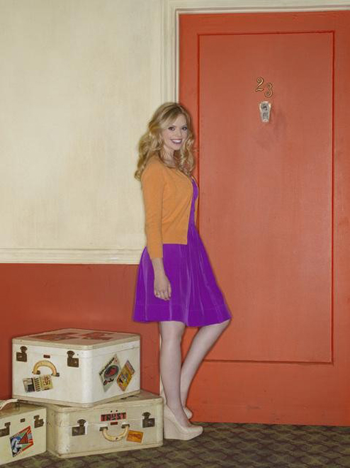 Dreama Walker in Don&#039;t Trust the B---- In Apartment 23.