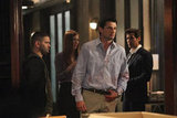 Guillermo Diaz, Darby Stanchfield, Wes Brown, and Henry Ian Cusick in Scandal.