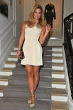Bar Refaeli at Paris Fashion Week.