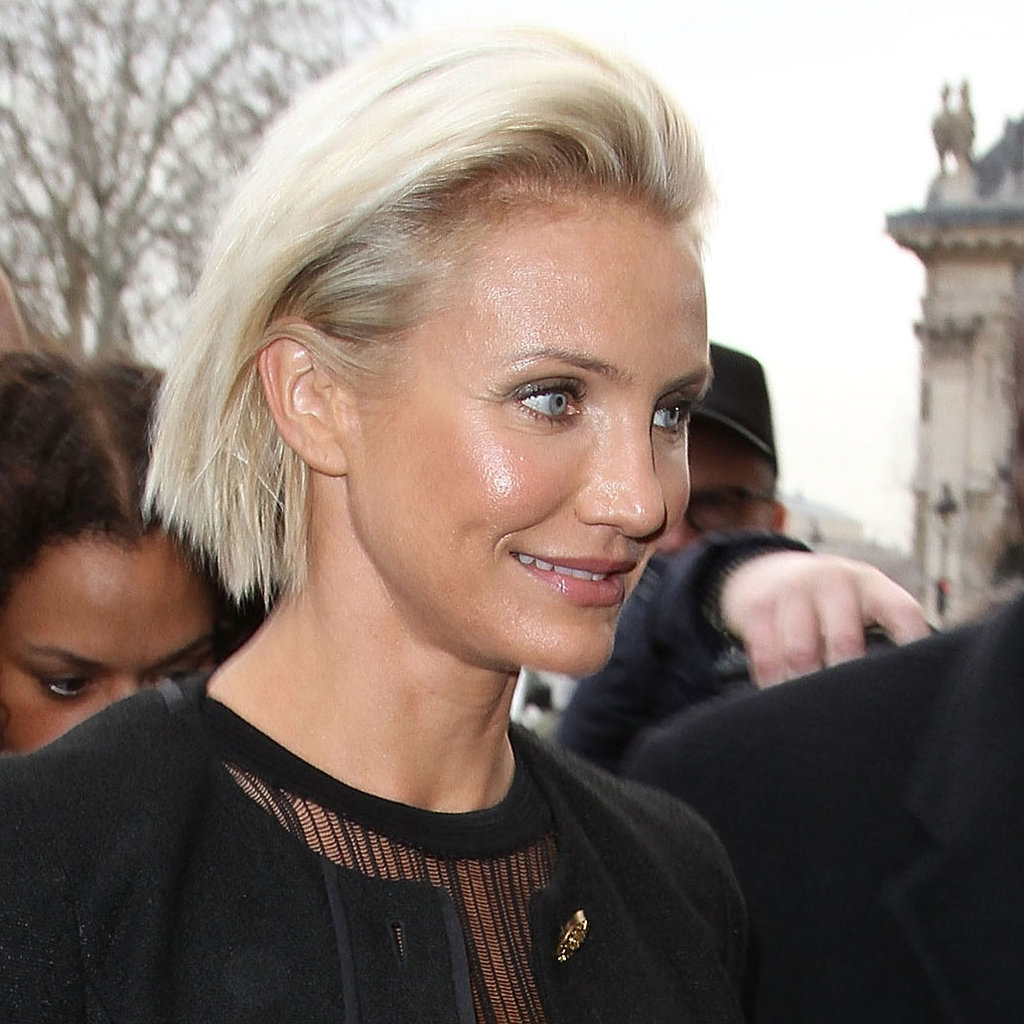 Cameron Diaz and Diane Kruger Kick Off Paris Fashion Week