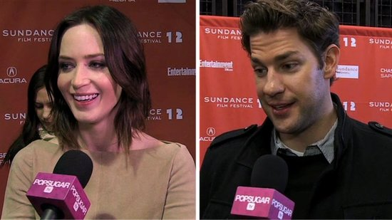 Video: See Emily Blunt and John Krasinski's Busy Sundance Weekend Together