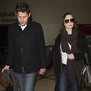 Emily Blunt and John Krasinski After Sundance Pictures