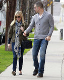 Reese Witherspoon and Jim Toth took a walk on Sunday afternoon.
