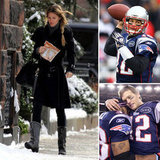 Gisele Bundchen Watches as Tom Brady Helps Lead the Patriots to the Super Bowl