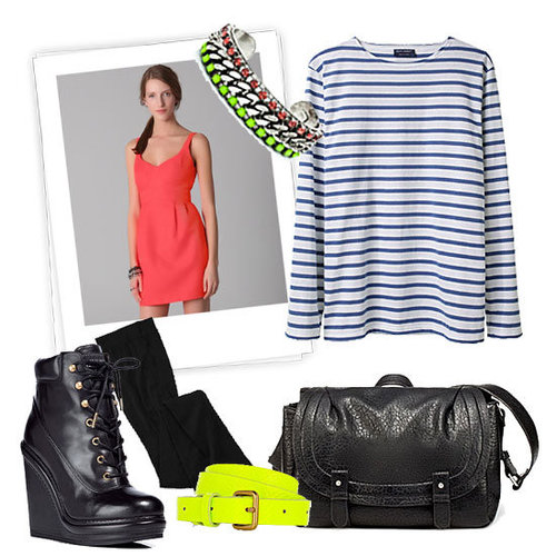 How to Wear Neon Winter 2012