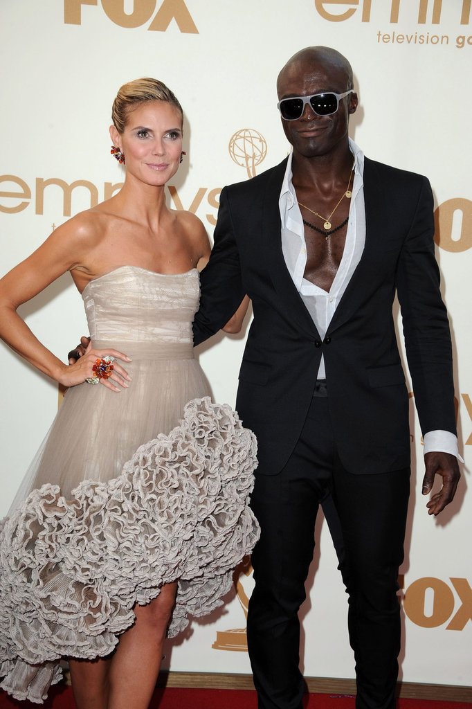 The pair shines on the 2011 Emmys red carpet.