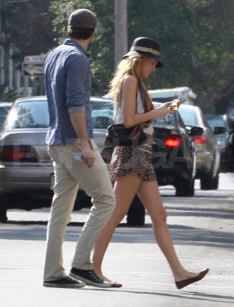 Blake Lively and Ryan Reynolds took in the scenery of New Orleans.