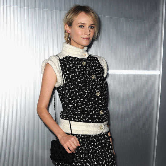 Diane Kruger showed off her Chanel ensemble.