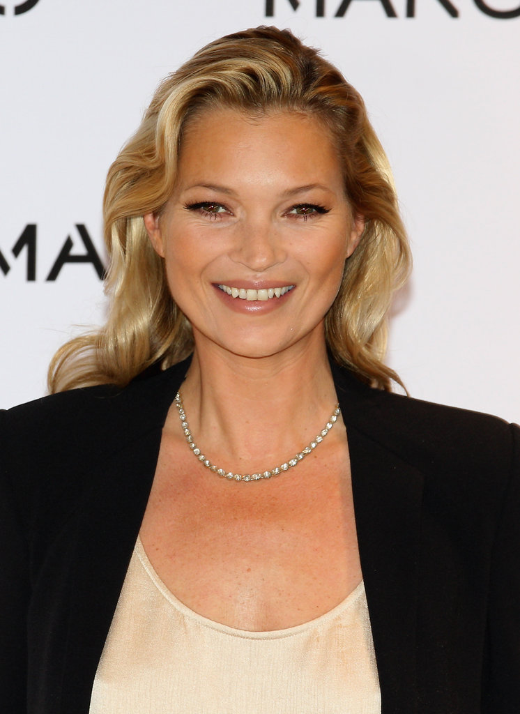 Kate Moss was named the face of Mango.