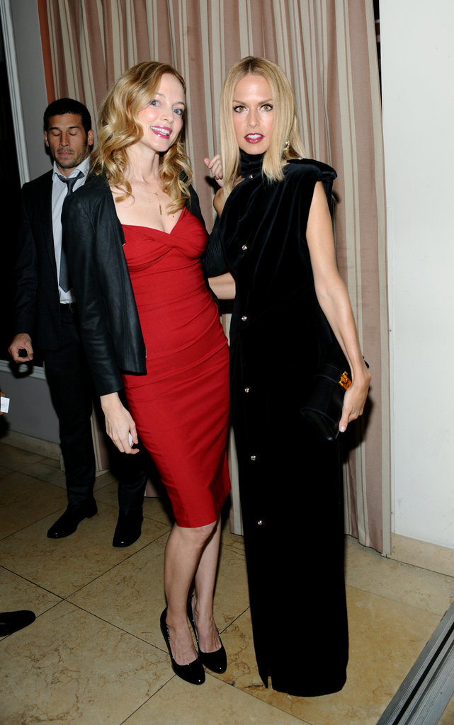 Rachel Zoe posed with Heather Graham.