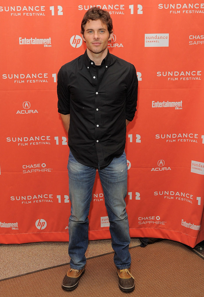 James Marsden premiered Bachelorette at the 2012 Sundance Film Festival.