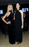 Anne Hathaway posed alongside Rachel Zoe.
