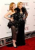 Andrea Riseborough and Madonna attended the NYC premiere of W.E.