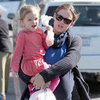 Jennifer Garner With Seraphina in Pink Pictures in LA