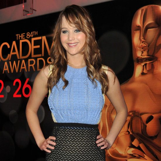 Jennifer Lawrence Oscar Nominations Ceremony 2012 Pictures