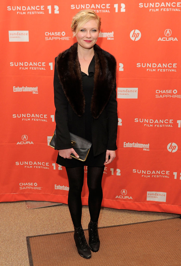 Kirsten Dunst at the 2012 Sundance Film Festival.