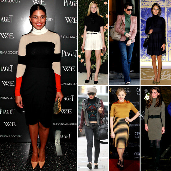 7 Days, 7 Ways: How Stars Put a Spin on the Turtleneck