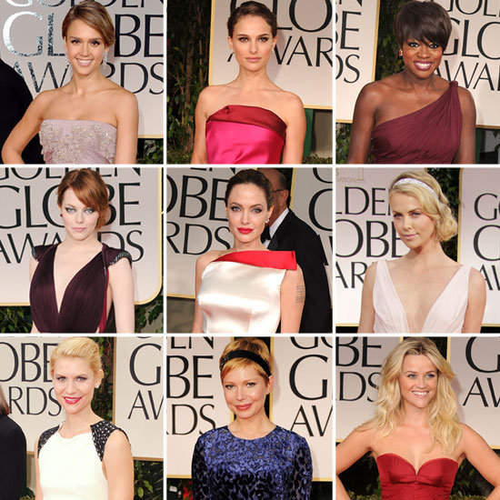 Golden Globes Red-Carpet Fashion 2012