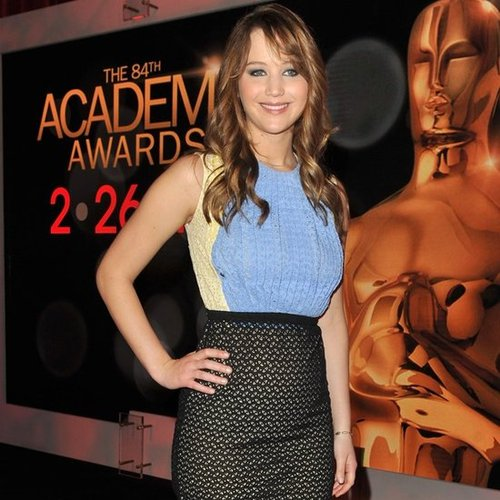 Jennifer Lawrence Wears Prada For 2012 Oscar Nominations!