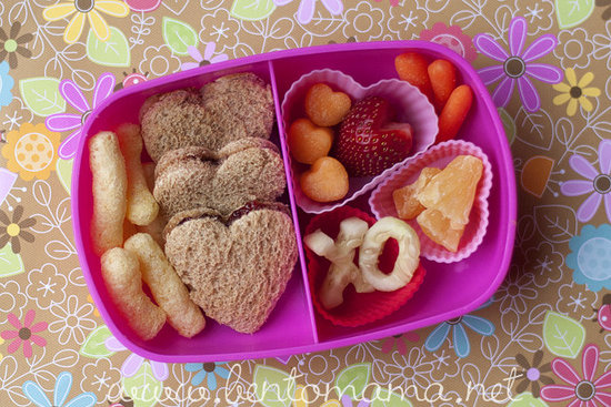 I Heart You: Valentines Day Lunch Ideas